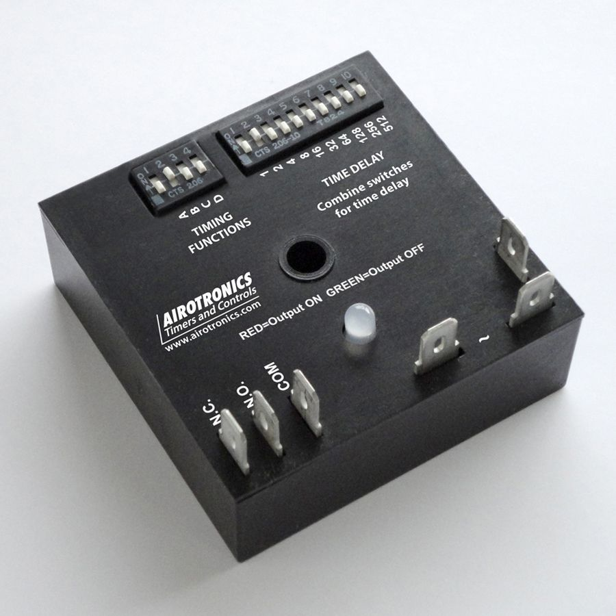 Multifunction Timer Mc363 Series. Relay Output