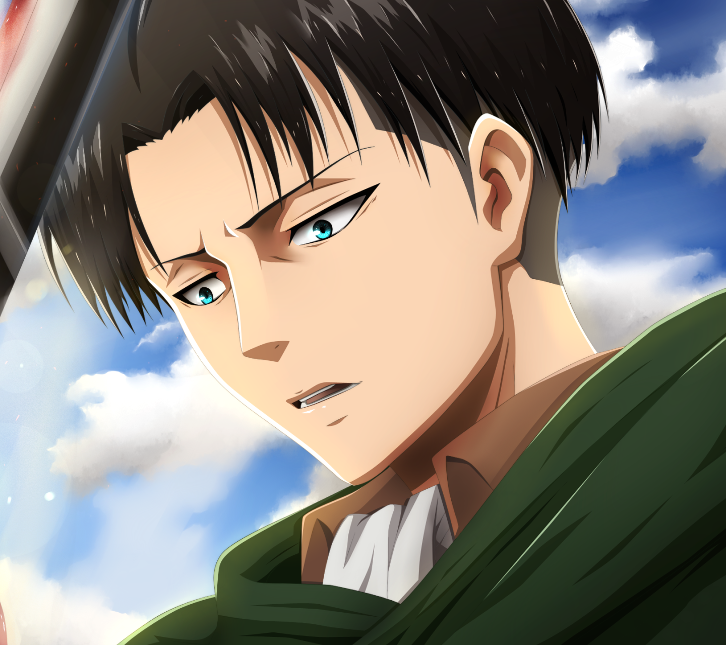 Download This Wallpaper Anime Attack On Titan 1440x1280 For All Your Phones And Tablets Attack On Titan Attack On Titan Levi Levi Ackerman
