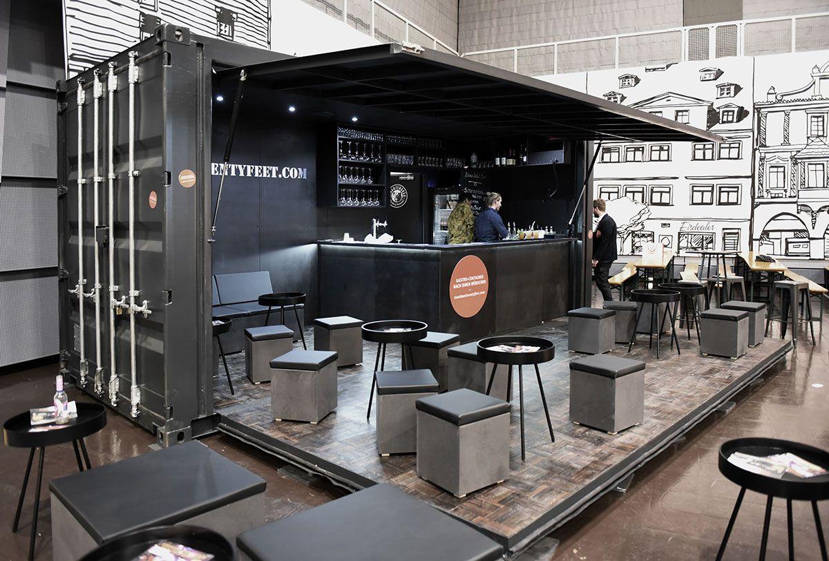 zu verkaufen mieten bar container 2x20ft die. Black Bedroom Furniture Sets. Home Design Ideas