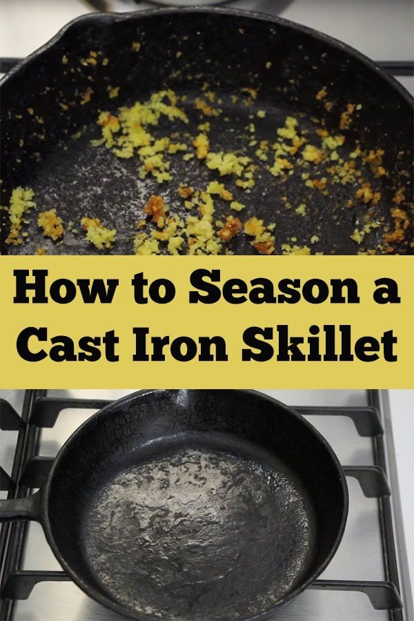 how to get rid of rust on cast iron