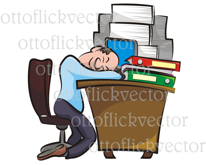 office clipart rest in the office office worker sleeping on desk rh pinterest co uk office worker clipart funny frazzled office worker clipart