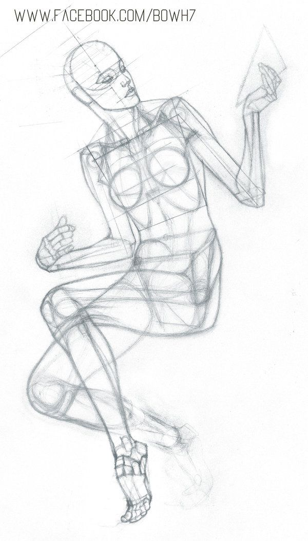 https://www.facebook.com/Bowh7/ #anatomy #drawing | Sketch ...
