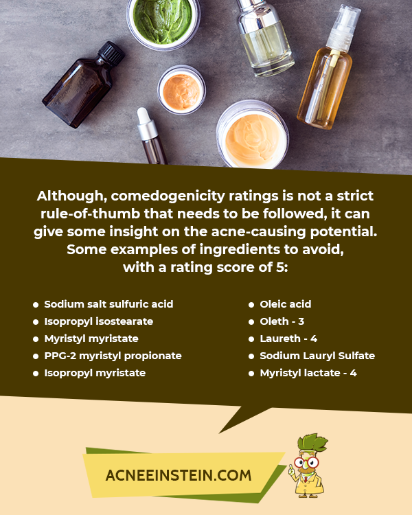 Reality Check Do Comedogenic Ingredients Cause Acne Home Remedies For Acne Comedogenic Acne