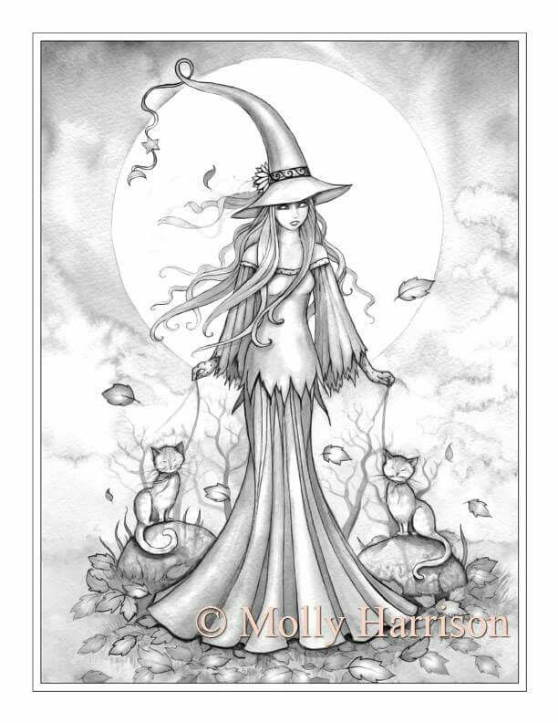 free printable fantasy pinup girl coloring pages - Google Search ...