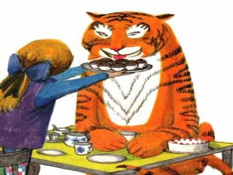 The Tiger Who Came To Tea By Judith Kerr Youtube Childrens Stories Online Childrens Stories 4th Grade Art