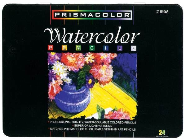 Prismacolor Watercolor Pencils Set Of 24 Art Supplies Of My