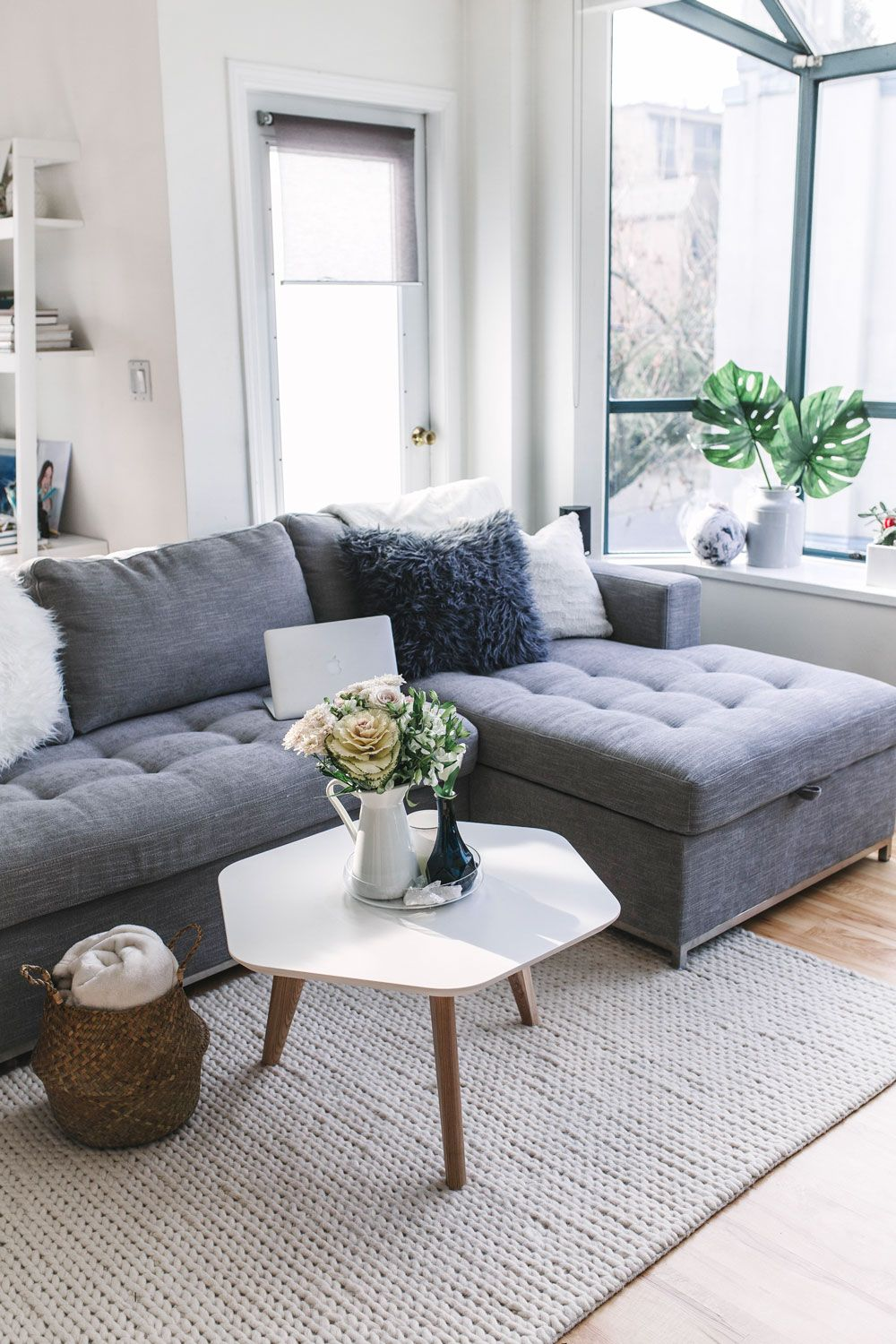 Whether you rent or own if you have a small space you need to check out todays post sharing the best sectional couch for small spaces today on tvob