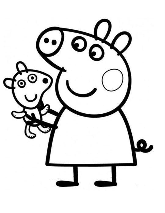 Pin En Dibujos De Pepa Pig