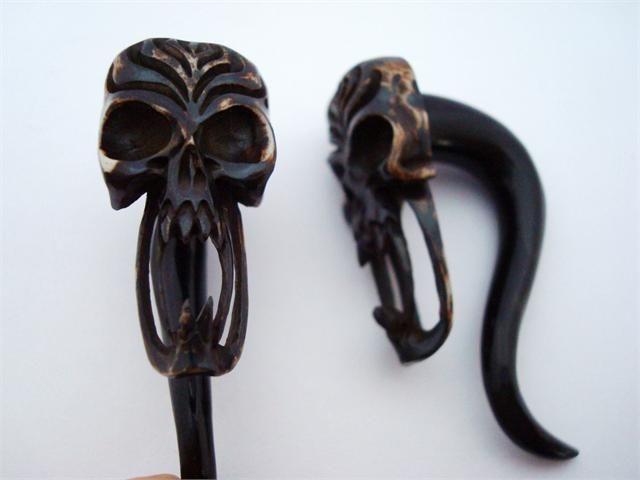 Evil Scary Skull Talons (12 gauge - 00g)