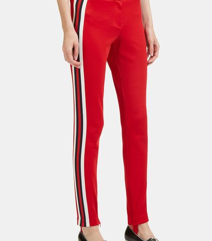 d0b2f823fd4 GUCCI Striped Web Jersey Stirrup Leggings.  gucci  cloth
