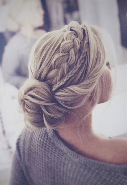 Hair bridesmaid simple updo loose braids 48 ideas #loosebraids Hair bridesmaid simple updo loose braids 48 ideas - #braids #bridesmaid #ideas #loose #simple - #HairstyleBridesmaid #loosebraids
