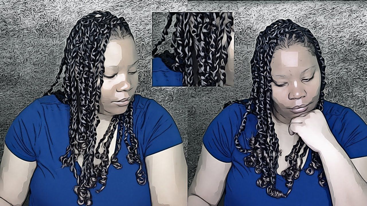NEW PASSION TWIST: FIRST TIME INSTALL - (RUBBER BAND METHOD) WATER WAVE HAIR