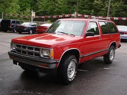 The Greatest Car Money Can Buy The 1993 Chevy S10 Blazer Better