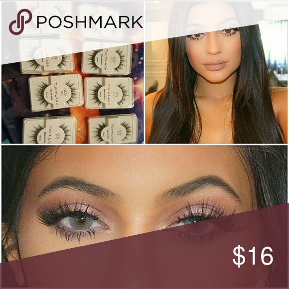 28f9827c15f 8 pairs of top lash eyelashes like Kylie Jenner Comment to bundle 2 pairs  $9 3 pairs $12 4 pairs $13 5 pairs $14 6 pairs $15 8 pairs $16 Glue is ...