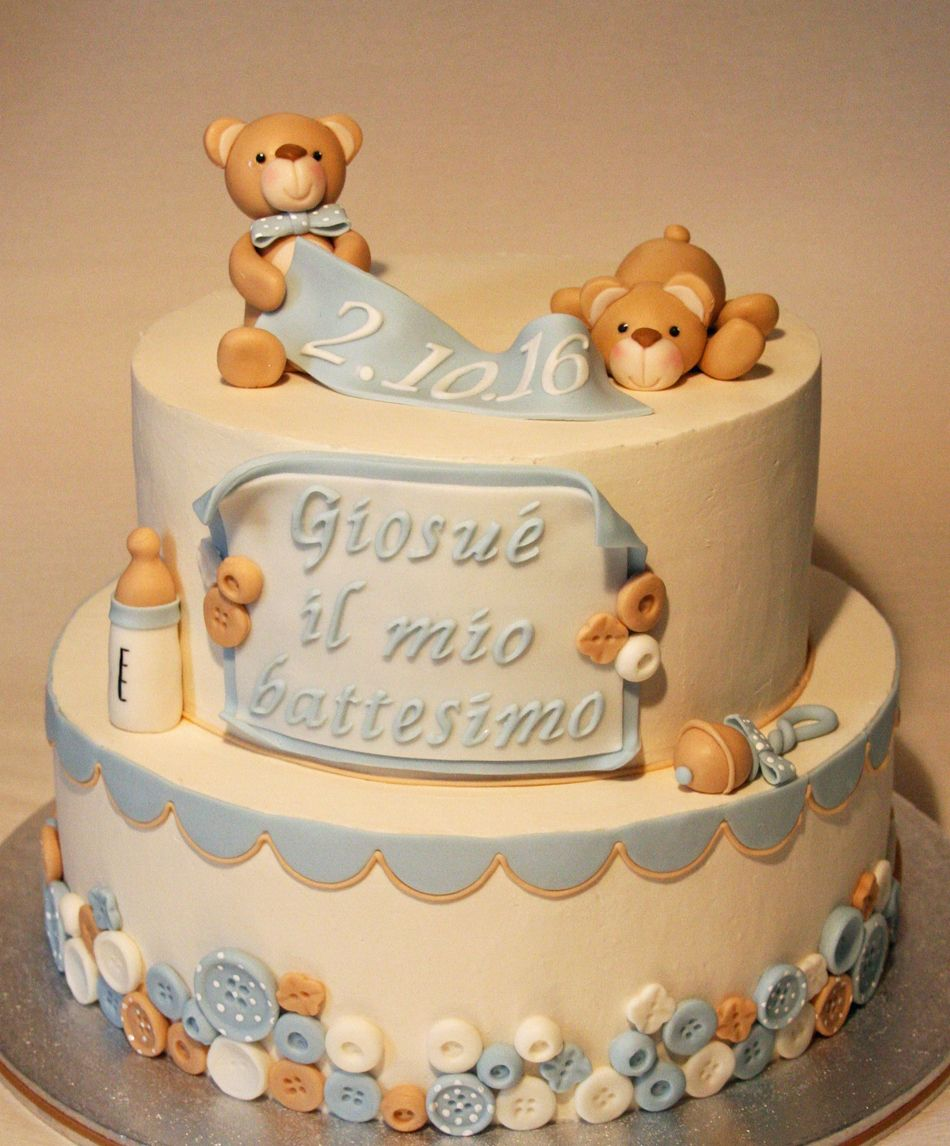Baptism chocolate cake with chantilly cream filling  http://passionecupcakes.blogspot.it/