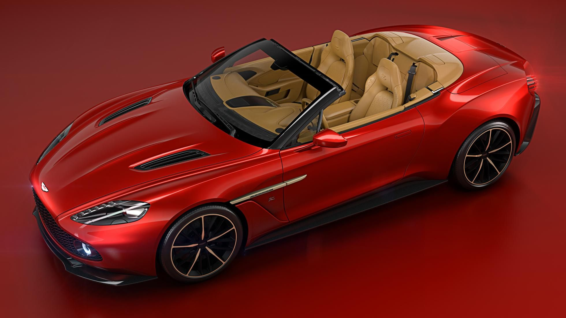To accompany the North American debut of the Vanquish Zagato Coupe at the Pebble…