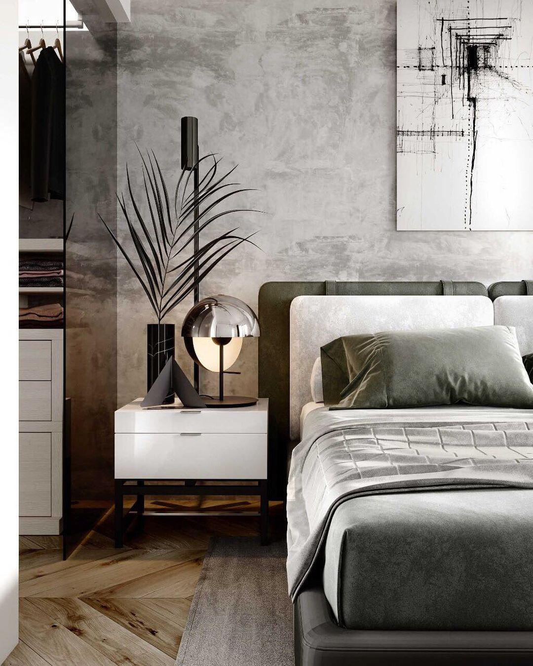 Luxury Master Bedroom Dubai On Behance: Small Apartments, Apartments In Dubai
