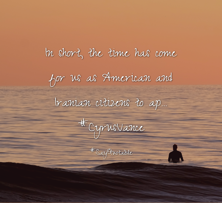 Quotes About In Short The Time Has Come For Us As American And