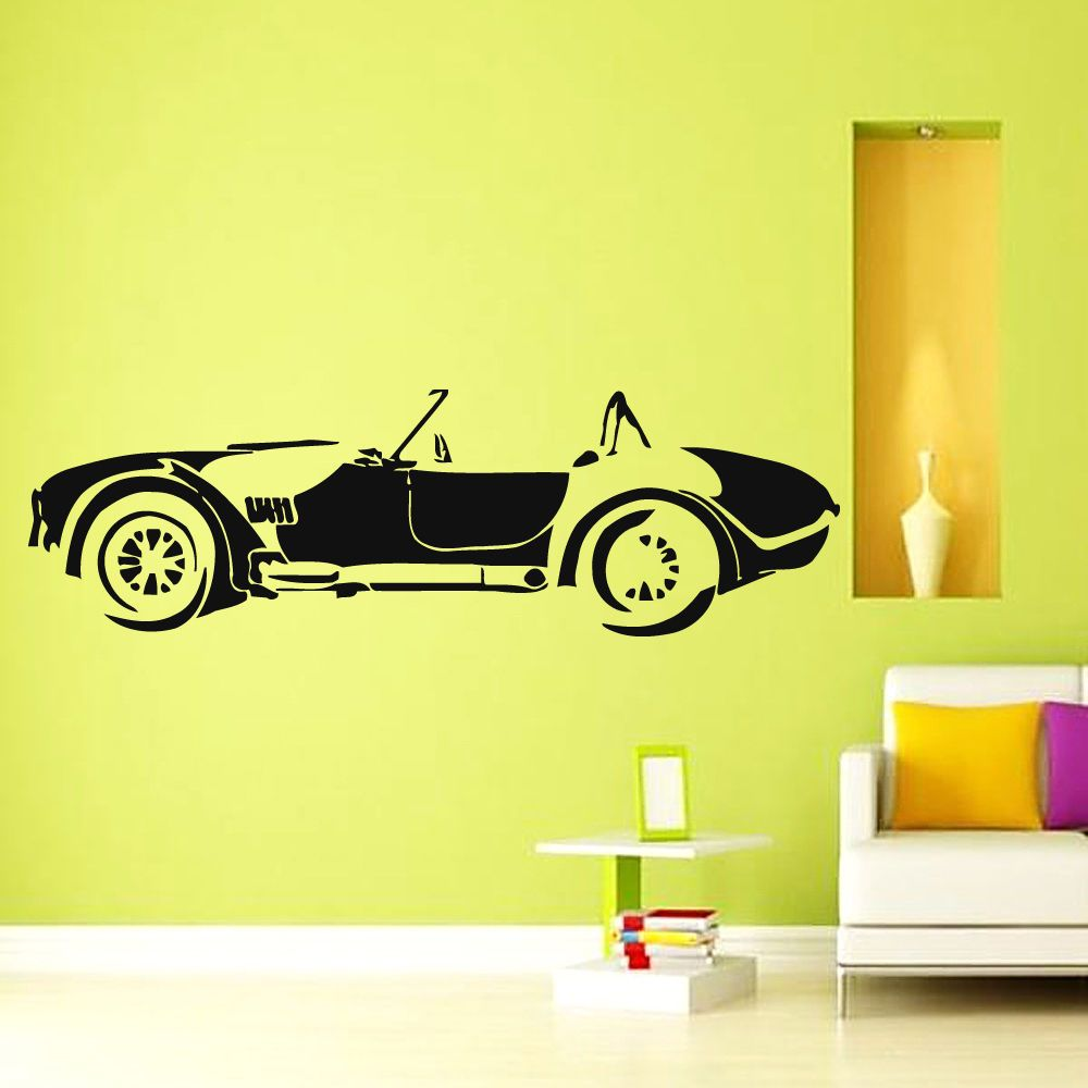 Wall Decals Vinyl Decal Sticker Art Murals Home Decor Cabriolet Car ...