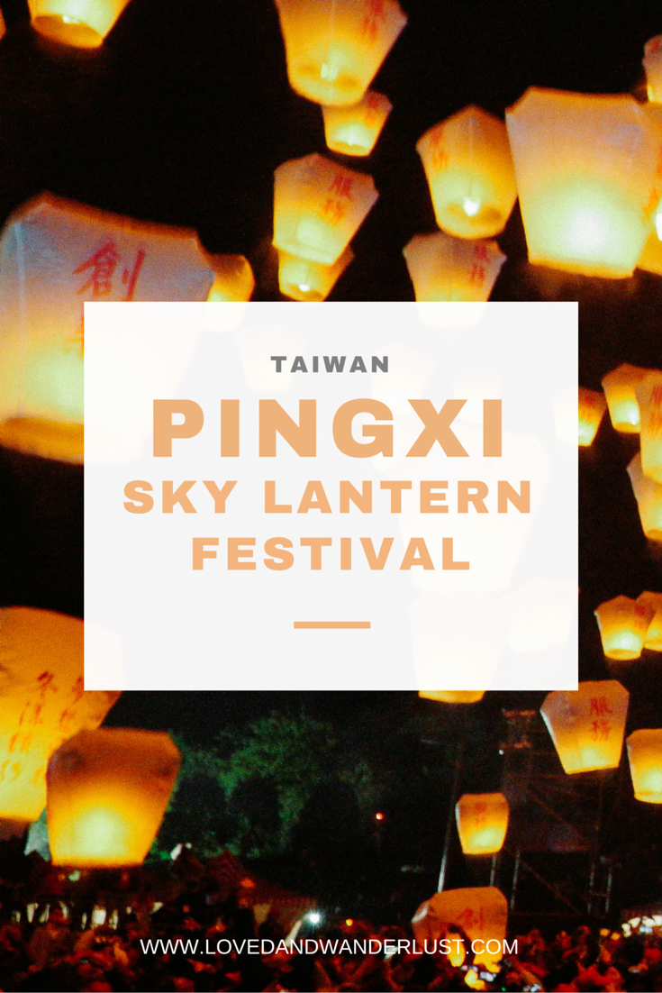 The Pingxi Sky Lantern Festival is one of the most colorful activities of the Lantern Festival. Pingxi is a remote hillside town. In the past, those who worked or farmed in the mountains faced the risk of being robbed or killed, and they used lanterns to inform their families they were safe. The lanterns do not function as signals anymore, but are now used as symbols of peace and good fortune.