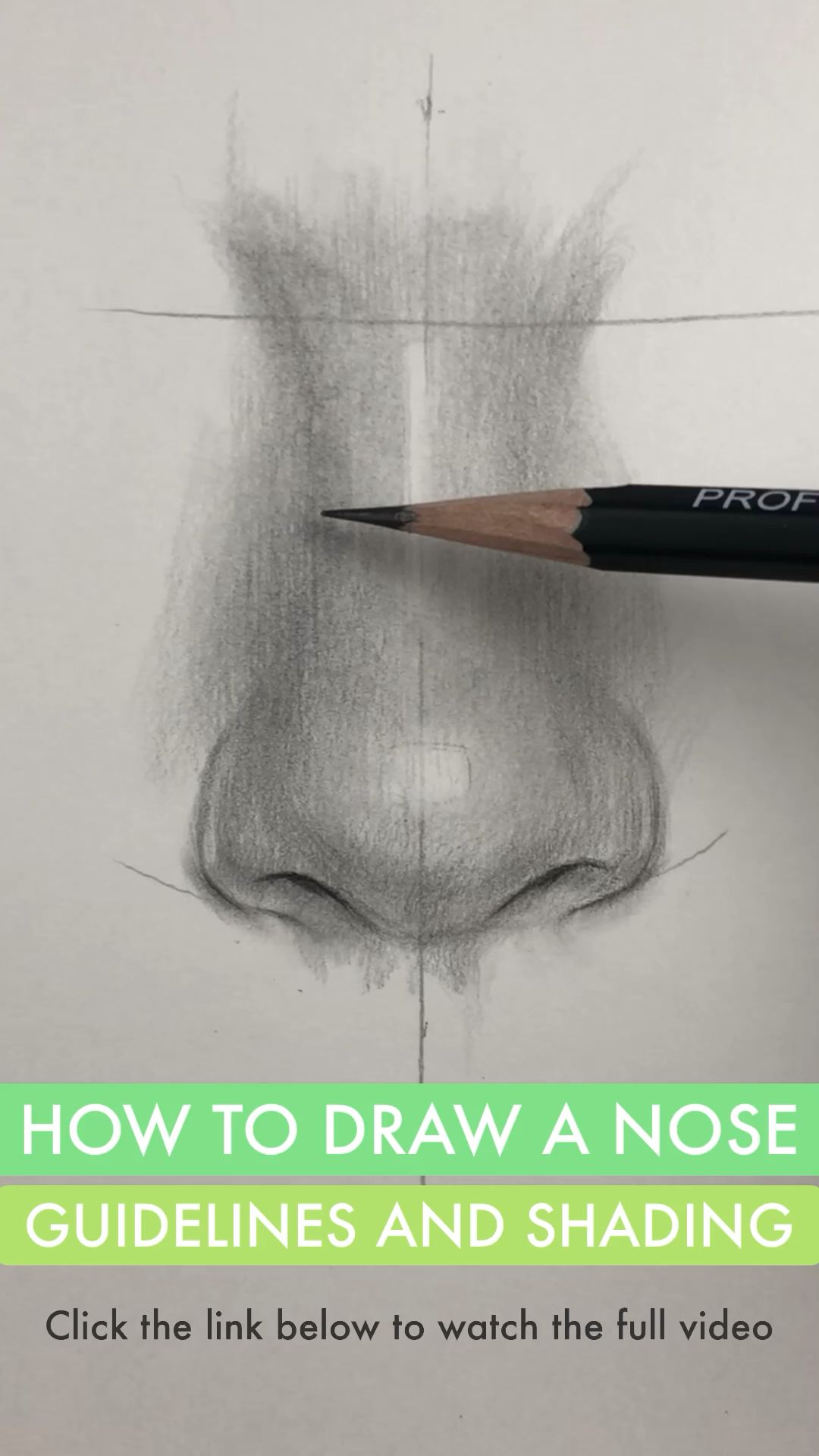 How To Draw A Nose Guidelines And Shading By Nadia Coolrista Youtube Video Nose Drawing Painting Art Lesson Art Drawings