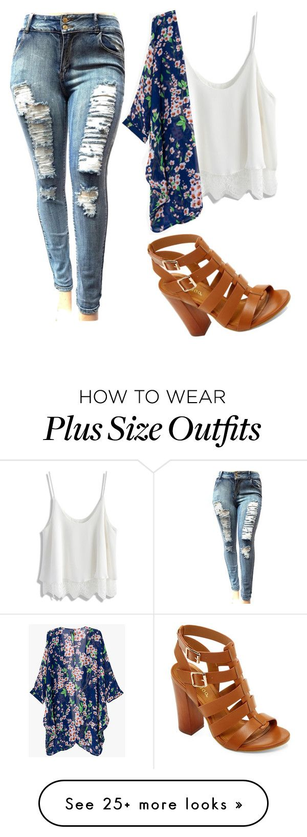"""Untitled #1836"" by mikaelaryan on Polyvore featuring Chicwish and Bamboo"