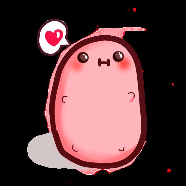 Resultado De Imagem Para Kawaii Kawaii Potato Cute Potato Kawaii