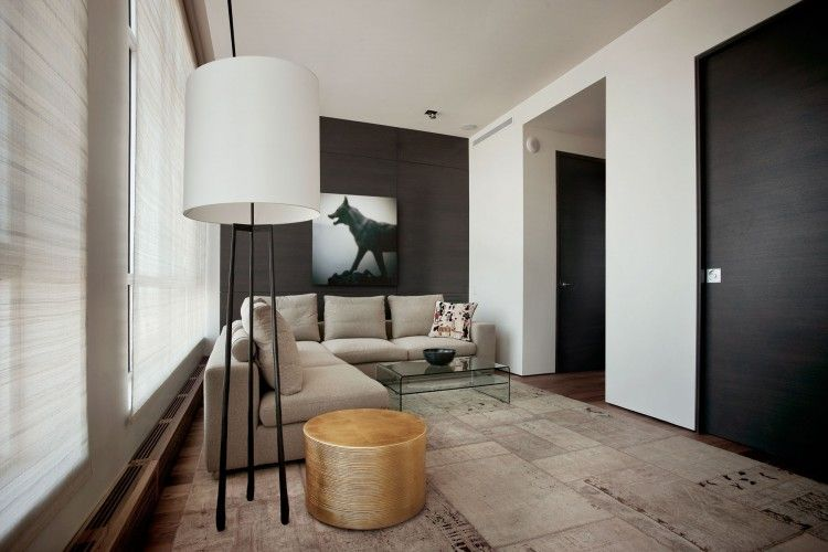 Luxury Penthouse In Downtown Montreal By Rene Desjardins Luxury - Downtown-montreal-penthouse-by-rene-desjardins