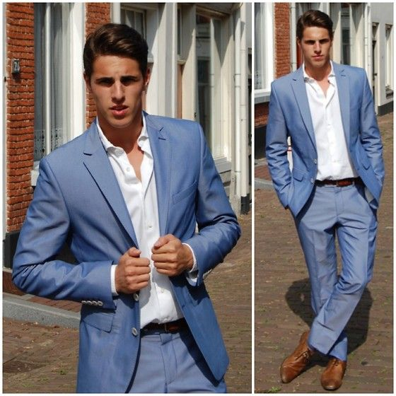 Zara Summer Suit, Massimo Dutti White Shirt | Awesome prints ...