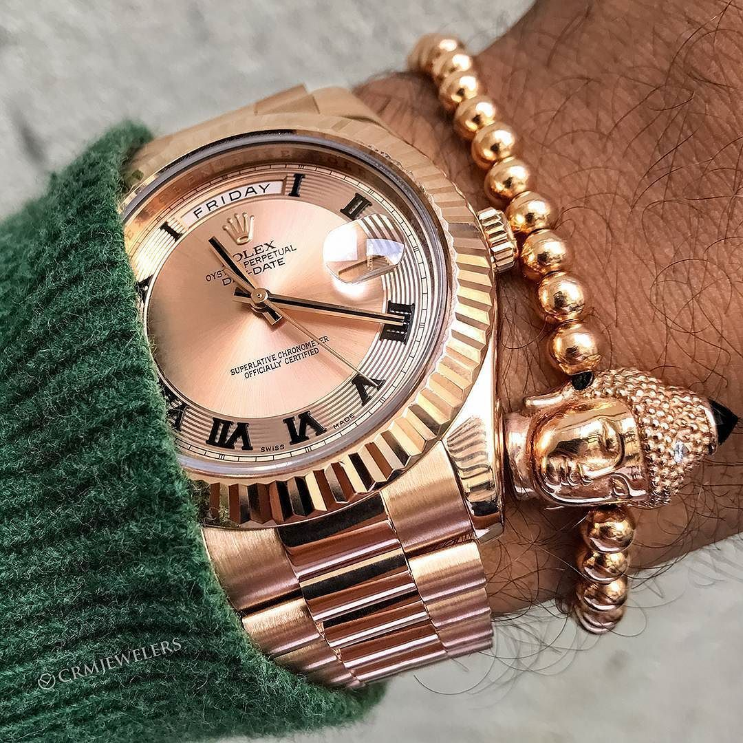 Rose Gold Daydate We Ship Internationally Crm Has Your