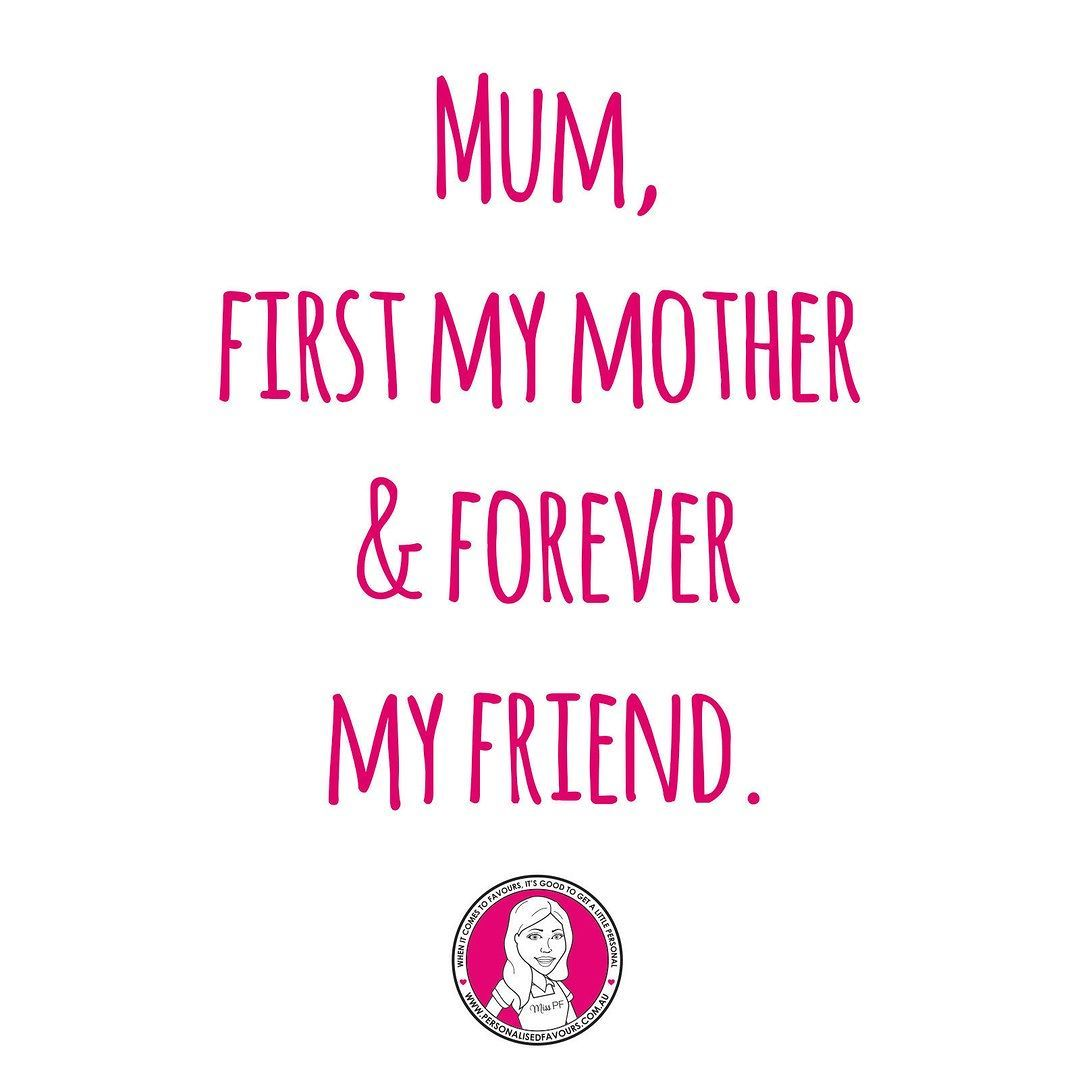 Our mothers are such an important part of our wedidng journey and are with us through all the ups and downs in life. She listens gives advice and does everything with love.   Explore our range of Mother's Day Gifts: www.PersonalisedFavours.com.au  #weddings #motherofthebride #motherofthegroom #mothersday2016 #weddingideas #weddinginspiration #friendship #weddingquote #family #personalisedfavours #misspf #Alamango #Bridal #Textiles #Wedding #AlamangoBridal #AlamangoTextiles #Malta #LoveMalta…