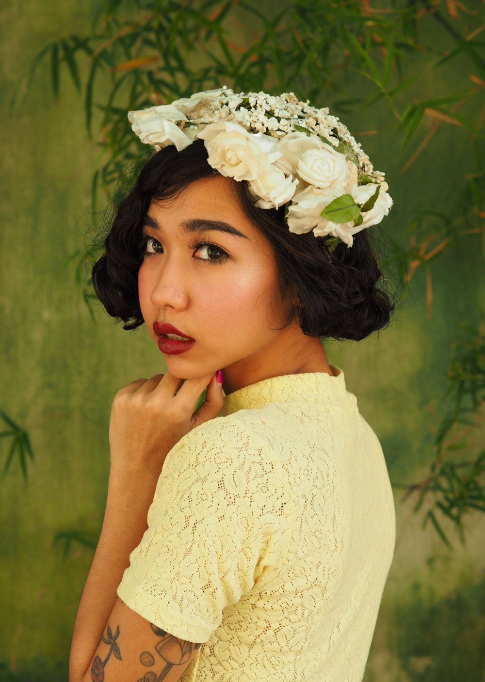 Vintage Hat Vintage Womens Hat 1960s Silk Floral Hat Etsy Hats Vintage Vintage Millinery Floral Hat
