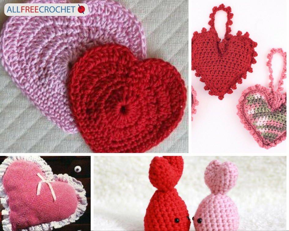 62 Best Valentine\'s Day Crochet Patterns | Idėjos | Pinterest ...