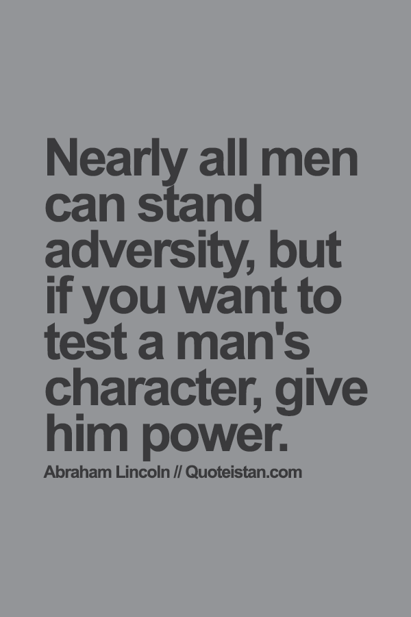 Robert Green Ingersoll - Most people can bear adversity;...