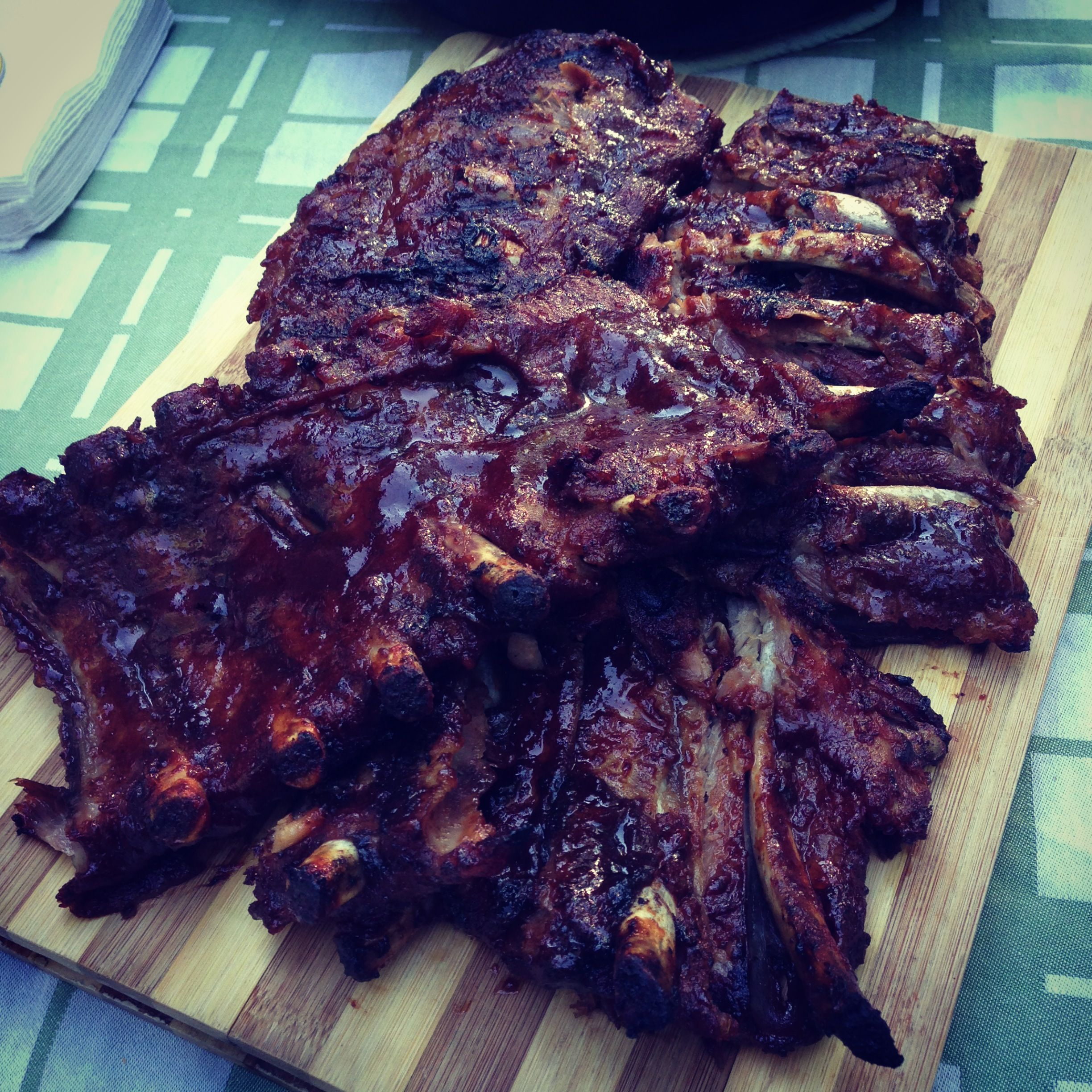 Slow cooked BBQ ribs Slow cooked bbq, Food, Bbq ribs