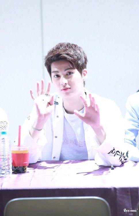 160429 UP10TION Suwon FansigningKogyeolCr:  아이스_사이다  Do not edit