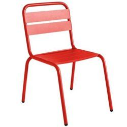 Chaise de jardin design Barceloneta MAR | Asseyez-vous ...