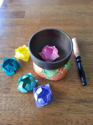 How to Fold Origami Lotus Flowers
