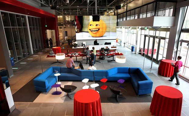 Youtube office interior design in los angeles ca work - Interior design school los angeles ...