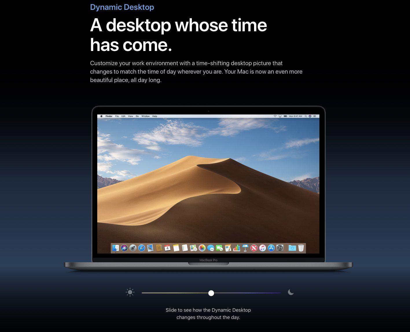 Come installare Dynamic Desktop di macOS su Windows 10