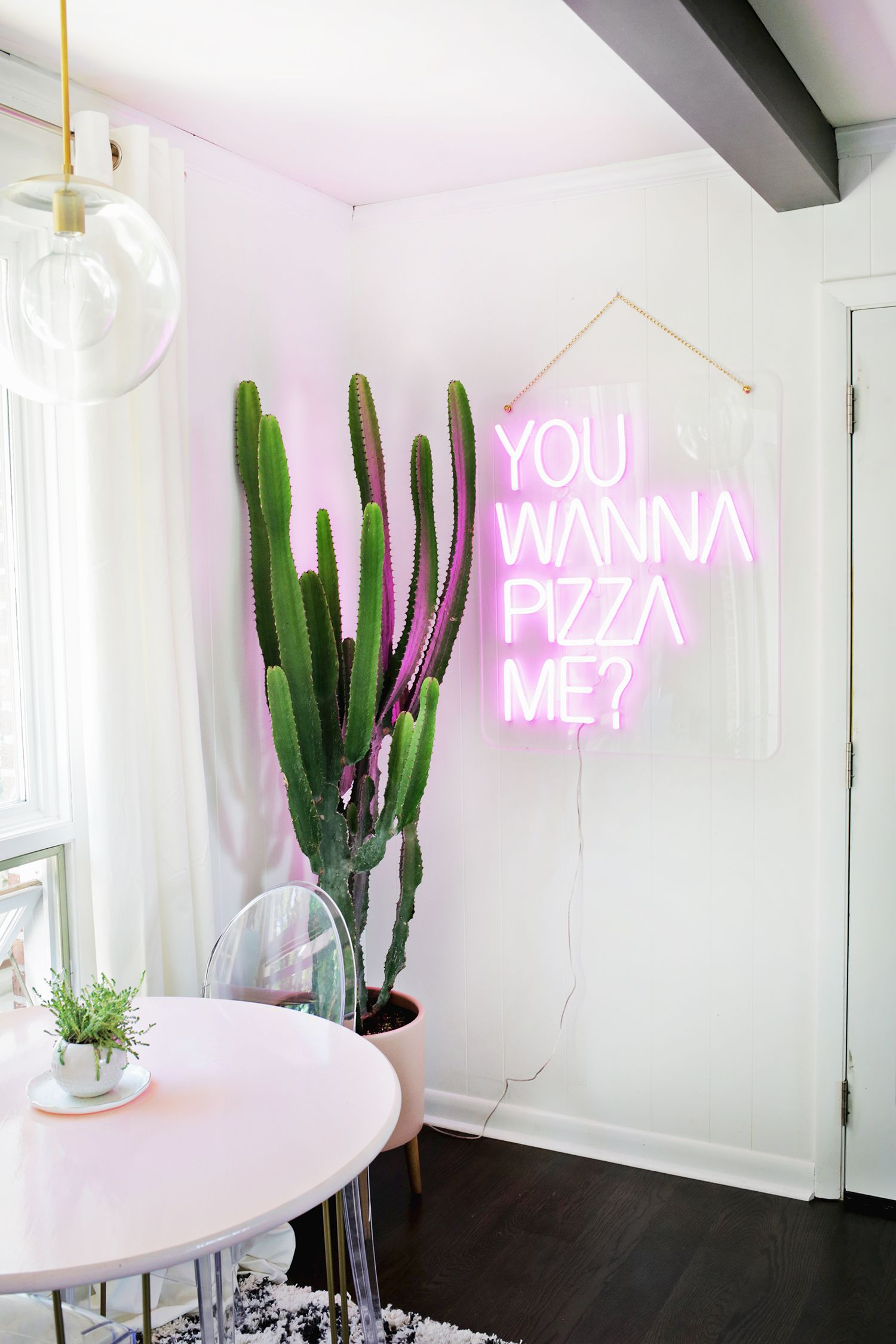 neon lighting for home. daring home decor: neon lights for every room lighting
