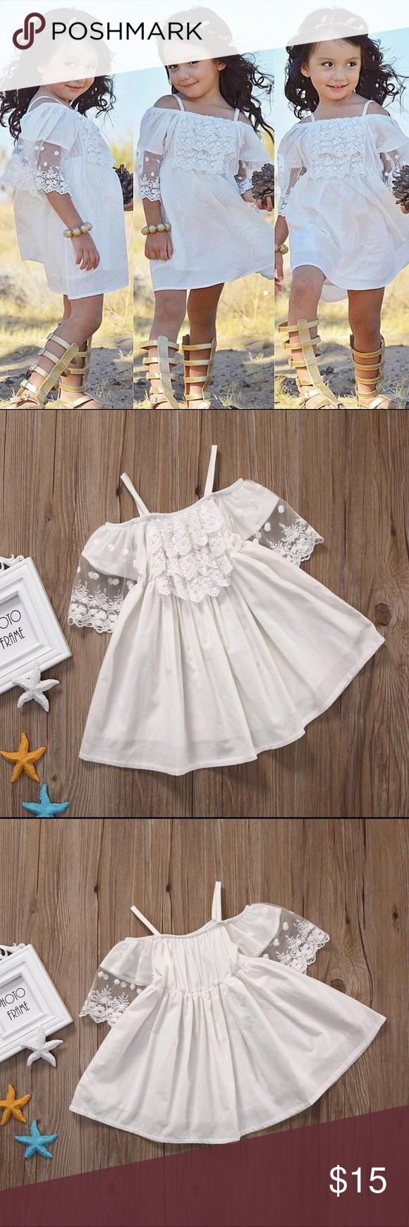 Toddler Girl Princess White Lace Dress Lace Toddler Dress Baby Girl Dresses Princess Dress Kids [ 1740 x 580 Pixel ]