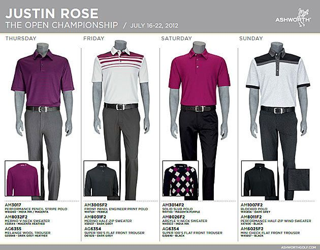 adidas golf justin rose