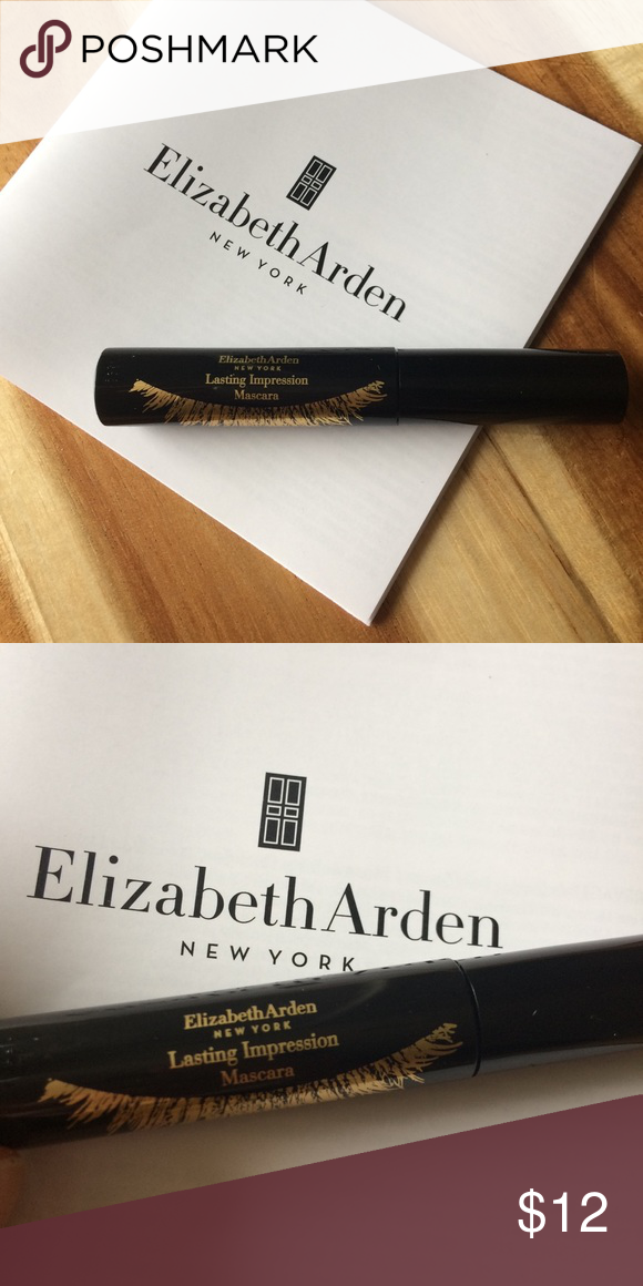 d72a4a32966 Elizabeth Arden Lasting Impression Mascara Elizabeth Arden Lasting  Impression Mascara 01# Black Sample size, 0.09oz/2.5ml/2.5g Never  opened/tested/used!