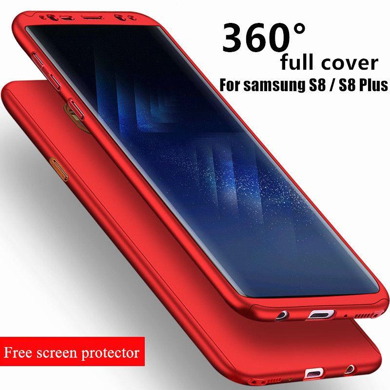 Shuohu 360 Degrés Téléphone Cas pour Coque Samsung Galaxy S7 Bord ...