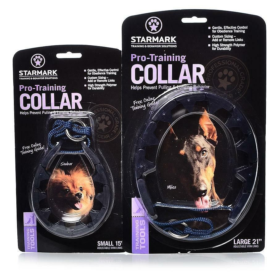 Starmark Pro Training Collars 2 Sizes And Added Link Options Ad