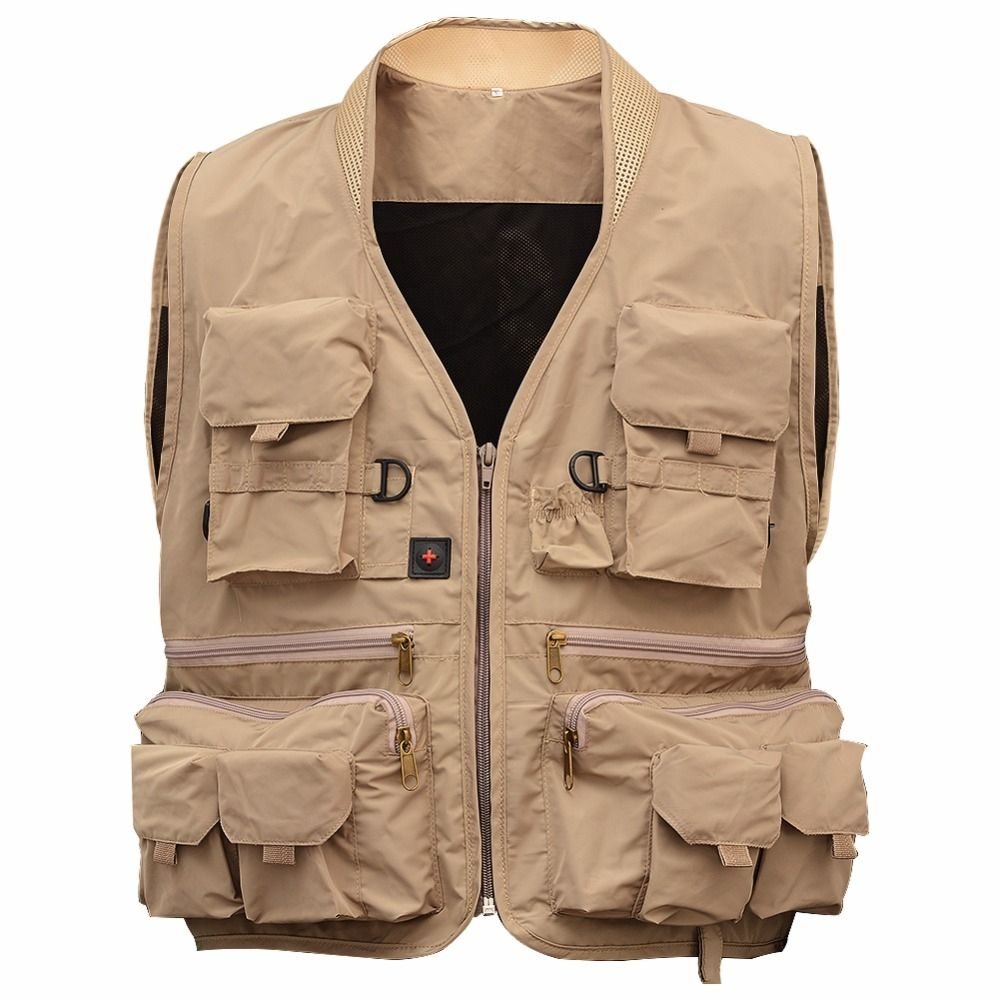 Multi Pocket Vest for Fishing and Hunting in 2020 | Fishing
