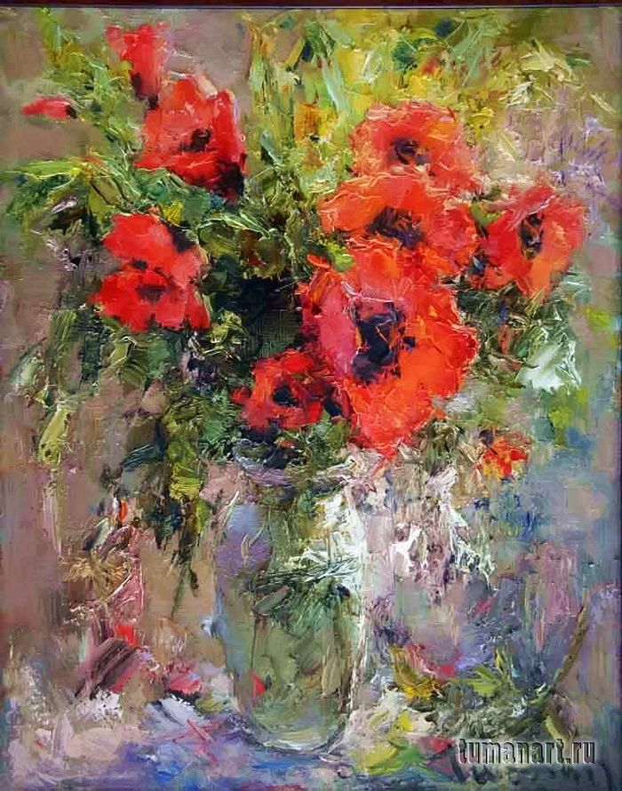 Tuman Zhumabaev, 1962 ~ Impressionist painter is part of Impressionist paintings, Contemporary abstract art, Art painting, Acrylic art, Impressionist art, Tuman -  Жумабаев is one of the most prominent artist living in Russia today  Recently, he had a painting acquired by the Hermitage for its permanent collection  Arrived in Leningrad from Kyrgyzstan  In 19811985 he studied at the Serov Art College; in 1991 he graduated from the Repin Institute of Painting, Sculpture and Architecture, under the tuition of Profession Yu  M  Neprintsev  His paintings are known in Austria, Vietnam, Iran, and China