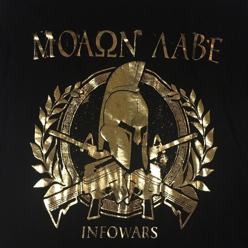 T-shirts Novelty Molon Labe T Shirt Men Short Sleeve Male 3xl Spartan Trojan Helmet Tshirt Gift Movie Sparta Tee Retro Old Style Clothing