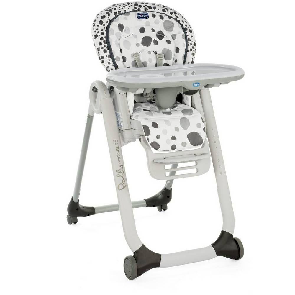 Buy Chicco Polly Progress 4 Wheel Highchair Anthracite Feeding